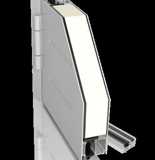 Aluminiowe zewnętrzne drzwi CREO