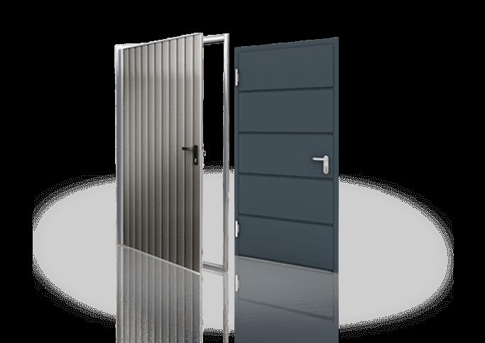 Drzwi stalowe boczne