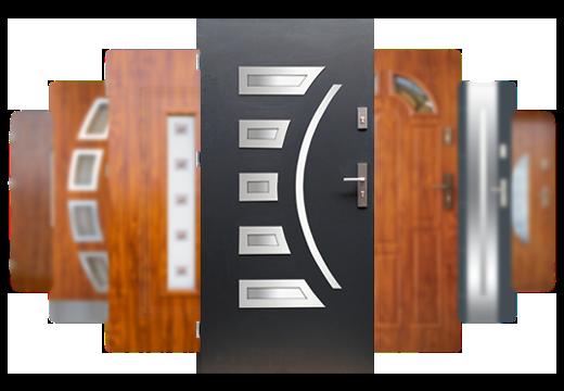 Drzwi wejściowe Wikęd