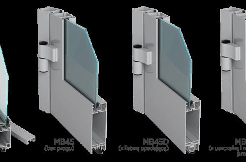 Drzwi  Aluprof MB45 lub MB45D
