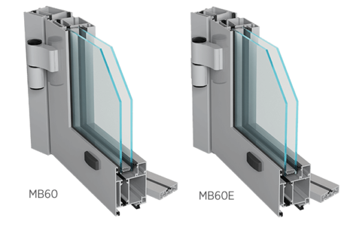 Drzwi Aluprof MB60 lub MB60E