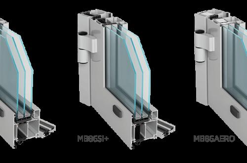 Drzwi Aluprof MB86ST, MB86SI+, MB86AERO - wyposażenie