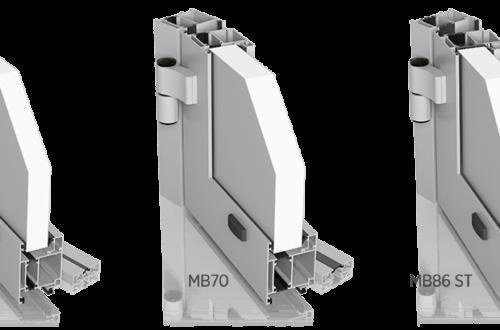 Aluminiowe drzwi zewnętrzne PLUS LINE